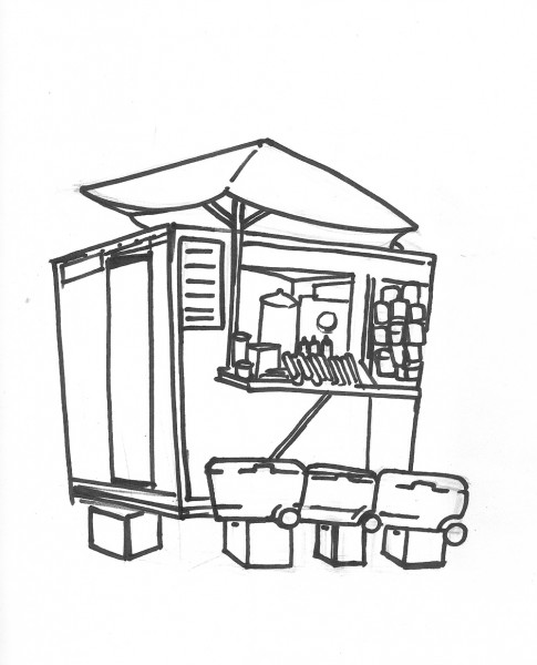 FoodTruck-Illustration